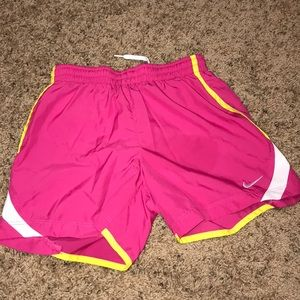 Nike Shorts - Nike dry tempo running shorts size small in kids